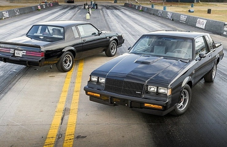 These '87 Buick Grand National Twins—With Sequential VIN Numbers ...