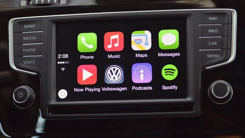 An upgrade to a modern head unit will add Apple Carplay or Android Auto to your system.
