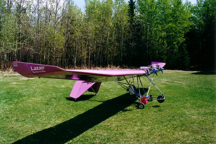 A Rare Lazair Ultralight Airplane Is Available on eBay