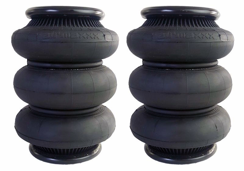 Air bags come in a variety of sizes depending on the desired effect.
