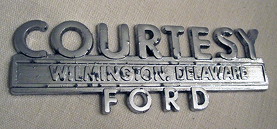 A car's badge can have historical significance but get in the way of the vehicle's looks.