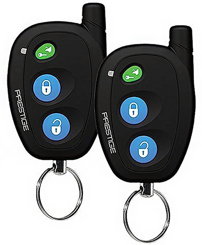 A basic keyless entry system will lock and unlock your ride.