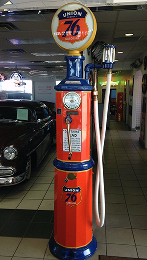 This vintage Union 76 Gas Pump has a Buy-It-Now price of $14,000.