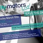 eBay Motors Live! Miami FL – March 12th