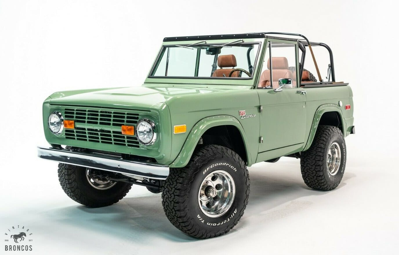 1974 Ford Bronco with all new parts