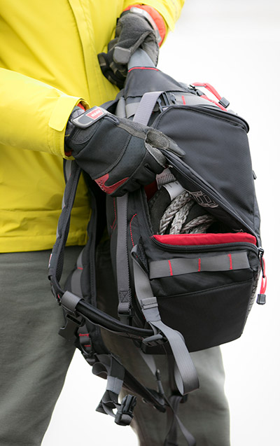 Warn recovery kit backpack