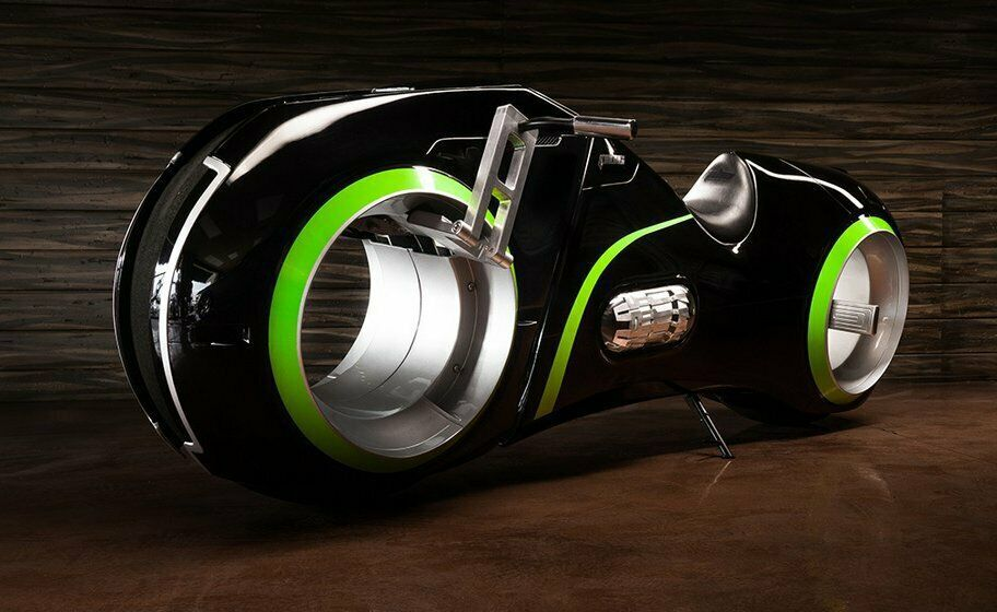 The Neutron hubless motorcycle