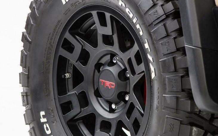 Toyota SEMA 17-inch TRD wheel