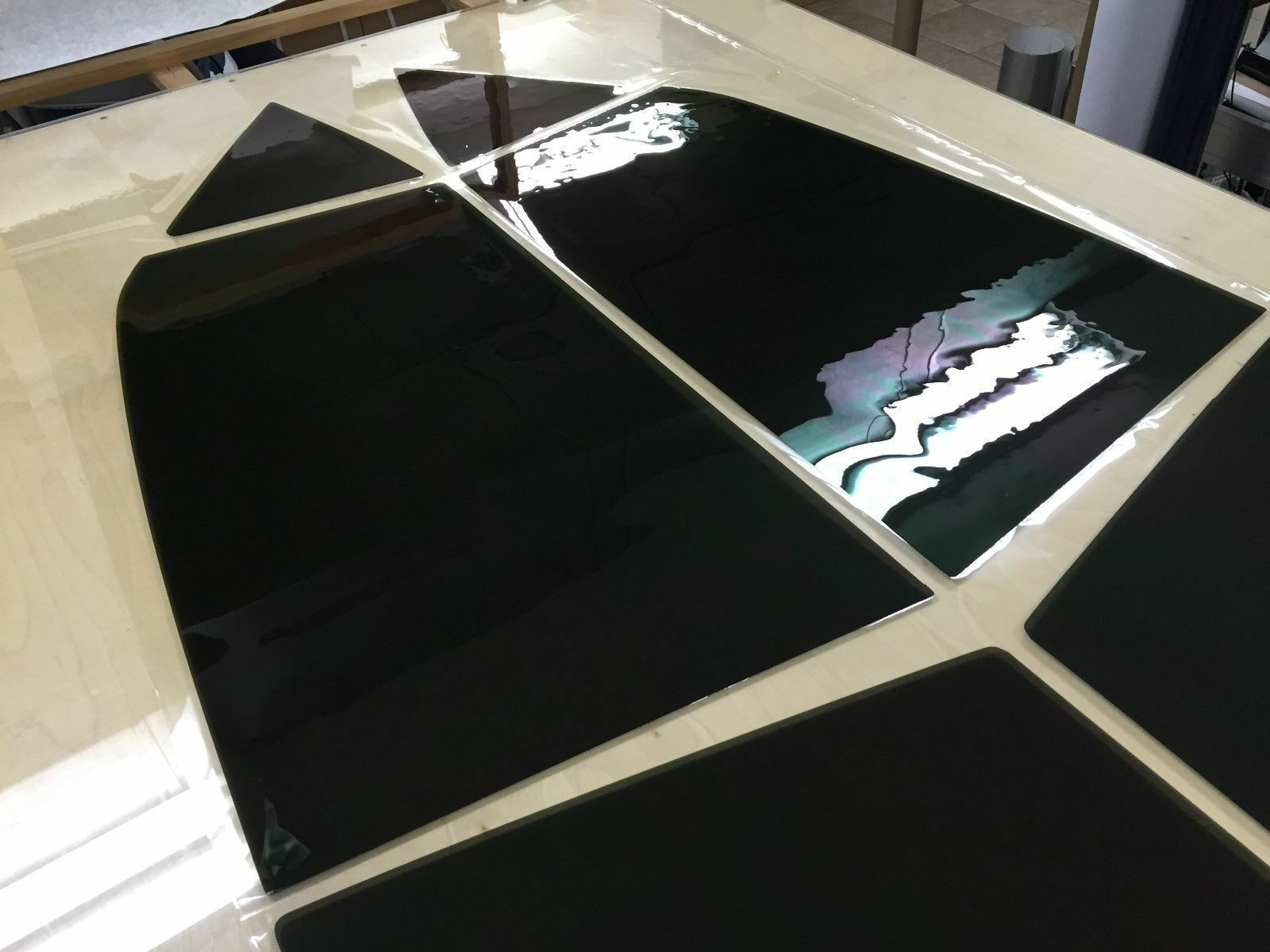 Everything that comes in a precut window tint order