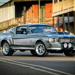 A 1968 Mustang Fastback with Movie Looks and Modern Conveniences