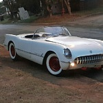 A 1954 Corvette Emerges from 51 Years of Storage
