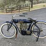 Blue Original 1912 Indian Motorcycle Is a Rare Survivor