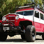 Wild Off-Road '54 Willys Is Powered by Corvette Engine