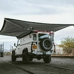 One-of-a-Kind 1992 Land Rover Camper Has Giant Awning