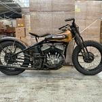 A Stunning 1950 Harley-Davidson WRTT Built for Endurance Beach Racing