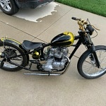 1968 Triumph T120R Adorned with Brass Accessories