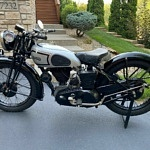 A '37 Norton Model 50 from Famed English Motorcycle Museum